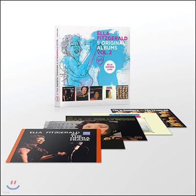Ella Fitzgerald (엘라 피츠제랄드) - 5 Original Albums Vol. 2