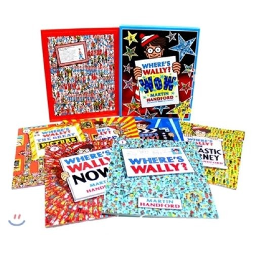 Where`s Wally? Wow Case Set