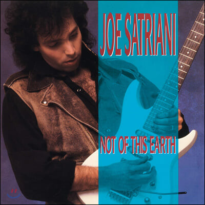 Joe Satriani (조 새트리아니) - Not Of This Earth [투명 블루 컬러 LP]