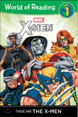 World of Reading Level 1 : These Are The X-Men
