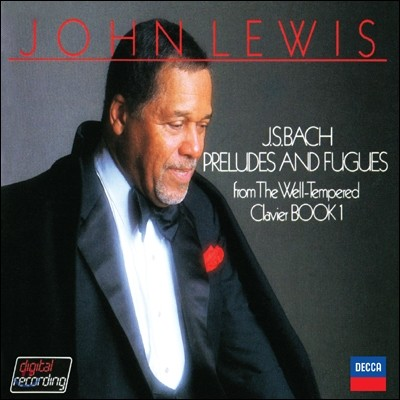 John Lewis 바흐: 평균율 클라비어 1권 - 존 루이스 재즈 편곡반 (J.S. Bach: Preludes and Fugues)