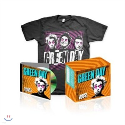 Green Day - Dos! (Deluxe T-Shirt Edition) [L Size]