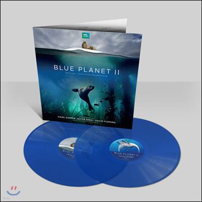 BBC `블루 플래닛 2` 다큐멘터리 음악 (Blue Planet II OST by Hans Zimmer 한스 짐머) [투명 블루 컬러 2LP]
