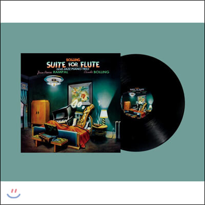Jean-Pierre Rampal / Claude Bolling 플루트와 재즈 피아노 트리오를 위한 모음곡 [LP]