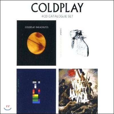 Coldplay - 4CD Catalogue Set (Limited Edition) (콜드플레이 1, 2, 3, 4집 세트)