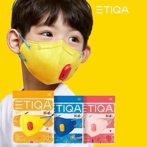 [무료배송] 에티카 에어웨이 어린이 KF80 미세먼지마스크 21매입