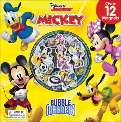 Disney Mickey Bubble Magnet Book : 디즈니 미키마우스 버블 마그넷 북