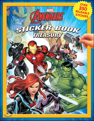 Sticker Book Treasury : Marvel Infinity Wars : 마블 인피니티 워 스티커 북