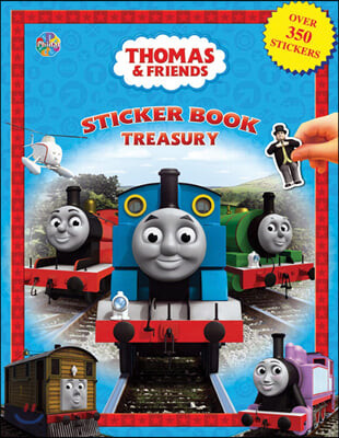 Sticker Book Treasury : Thomas & Friends : 토마스와 친구들 스티커 북