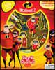 Stuck On Stories : Disney The Incredibles 2 스턱온 시리즈 : 디즈니 인크레더블 2 (흡착 피규어 10개 포함)