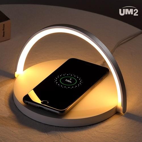 LED 조명 무드등 고속 무선 충전기 노트10 아이폰11 qi10W