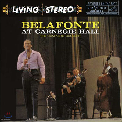 Harry Belafonte - At Carnegie Hall 해리 벨라폰테 1959년 카네기홀 실황 [5LP 박스 세트]