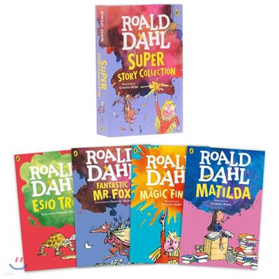로알드달 베스트 원서 4종 박스 세트 Roald Dahl Super Story Collection