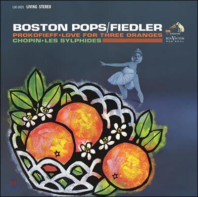 Arthur Fiedler 쇼팽: 발레음악 `레 실피드` [공기의 요정] / 프로코피에프: 3개의 오렌지에 대한 사랑 - 아서 피들러 [LP]