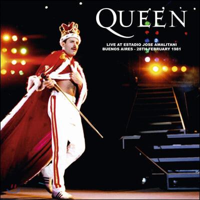 Queen (퀸) - Live At Estadio Jose Amalitani, Buenos Aires 28th February 1981 [레드 컬러 LP]