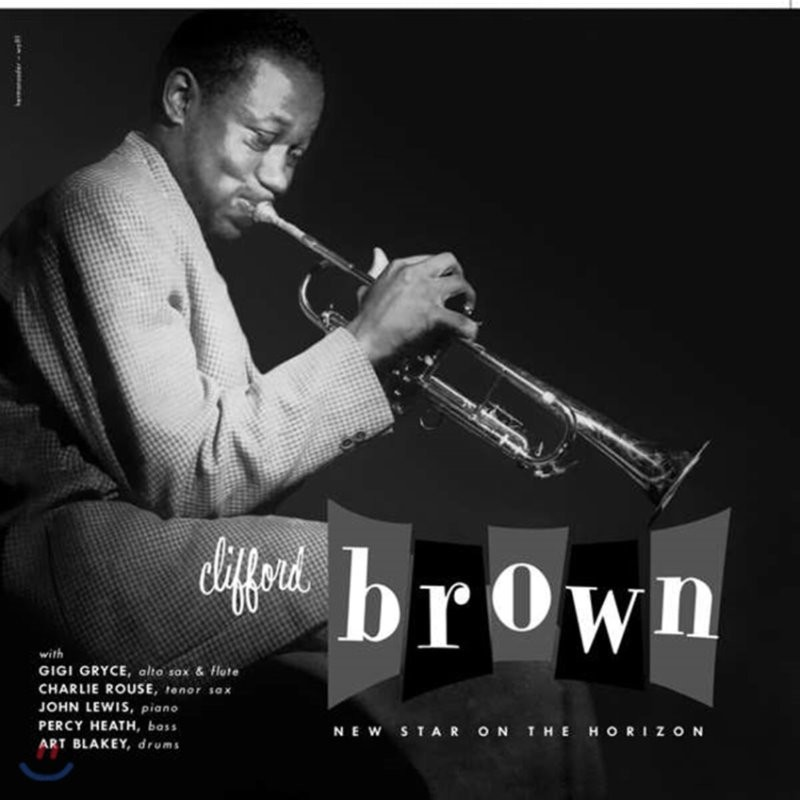 Clifford Brown (클리포트 브라운) - New Star On The Horizon [LP]