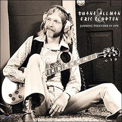 Duane Allman / Eric Clapton (듀안 올맨, 에릭 클랩튼) - Jamming Together In 1970 [2LP]