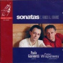 [미개봉] Pieter Wispelwey / 프랑크, 브람스 : 바이올린 소나타, 슈만 : 아다지오와 알레그로 - 첼로 편곡반 (Franck, Brahms : Violin Sonatas, Schumann : Adagio & Allegro Op.70 - Cello Transcription) (수입/
