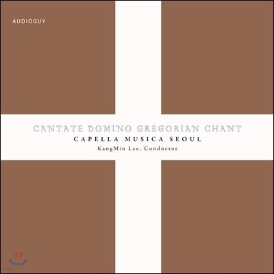 Cantate Domino (그레고리오 성가 앨범) - 카펠라 무지카 서울