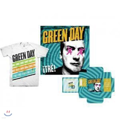 Green Day - ¡TRE! (Deluxe T-Shirt Edition)