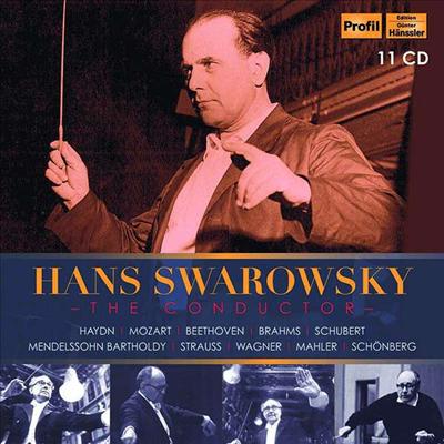 한스 스바로프스키 에디션 (Hans Swarowsky - The Conductor) (11CD Boxset) - Hans Swarowsky
