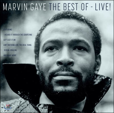 Marvin Gaye (마빈 게이) - The Best Of-Live! [LP]