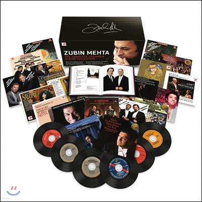 주빈 메타 컬럼비아 레코드 녹음 전집  (Zubin Mehta - The Complete Columbia Album Collection)