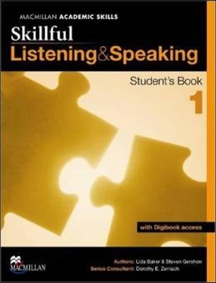 Skillful Level 1 - Listening and Speaking Student's Book and Digibook