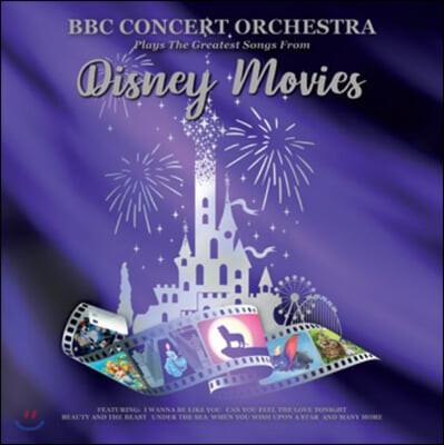 BBC 콘서트 오케스트라가 연주하는 디즈니 음악 모음집 (BBC Concert Orchestra Plays The Greatest Songs From Disney Movies) [LP]