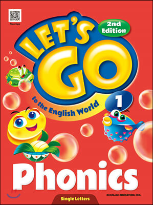 Let's go to the English World Phonics 1