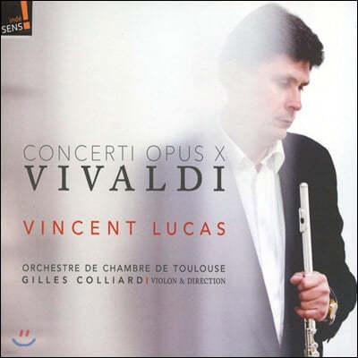 Vincent Lucas 비발디: 플루트 협주곡 -  빈센트 루카스 (Vivaldi: Flute Concerto RV433, 439, 428, 435, 434, 437)