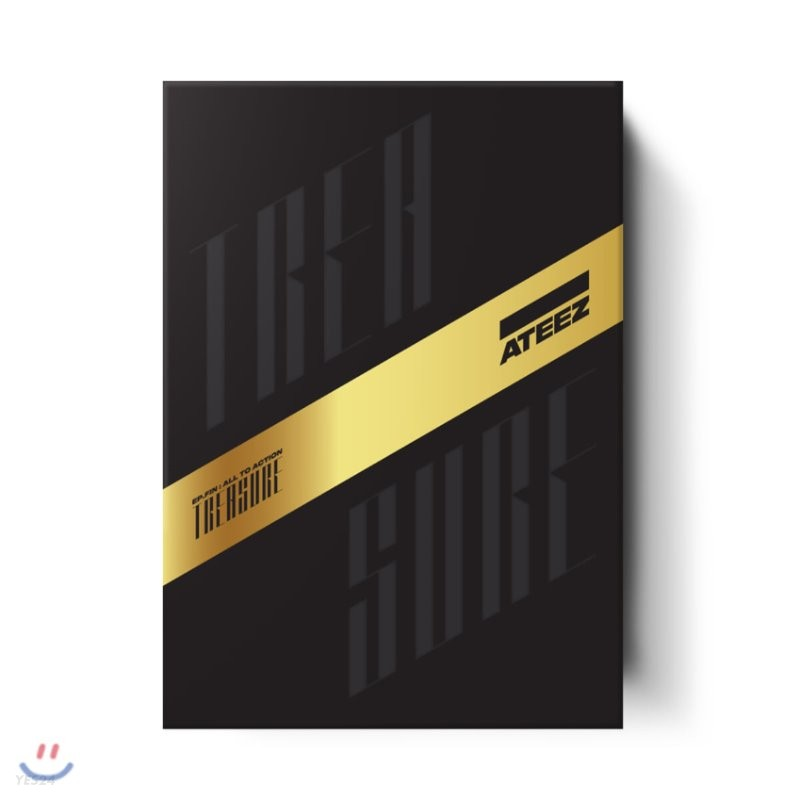 에이티즈 (ATEEZ) 1집 - TREASURE EP.FIN : All To Action [A ver.]