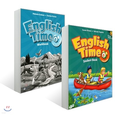 English Time 6 : Student Book with CD + Workbook