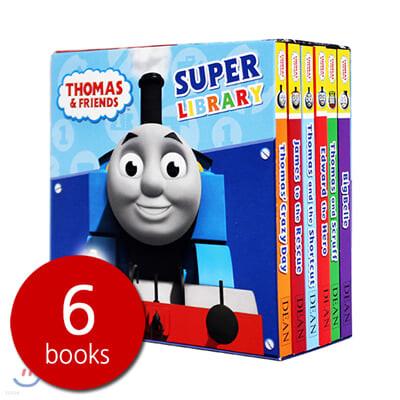 Thomas & Friends Super Library 6 Books Set  : 토마스와 친구들 슈퍼 라이브러리 북 세트