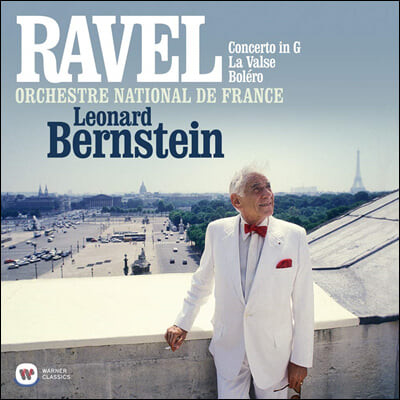 Leonard Bernstein 라벨: 피아노 협주곡, 라발스, 볼레로 (Ravel: Piano Concerto, La Valse, Bolero) [LP]