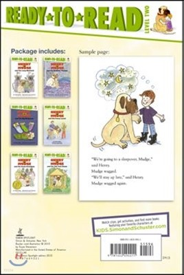 Henry and Mudge Ready-to-read Value Pack #2
