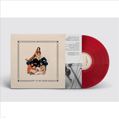 Barrie - Happy To Be Here (Cherry Red Vinyl LP+Download Code)