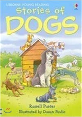 Usborne Young Reading Level 1-48 : Stories of Dogs