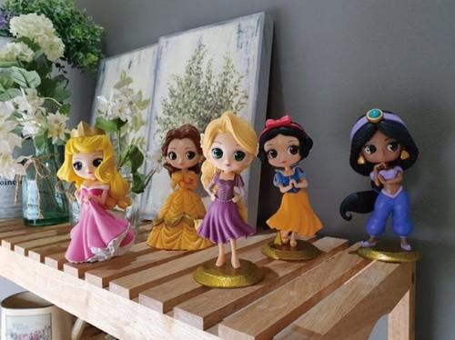 디즈니 프린세스 피규어 플레이북 5종 시리즈