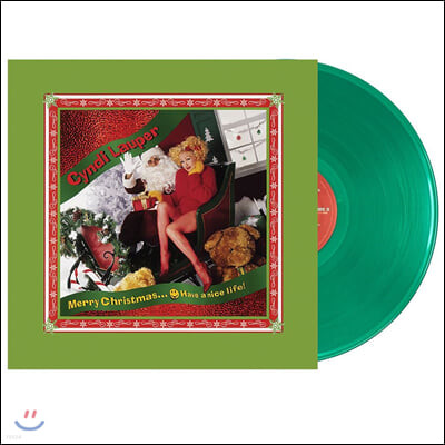 Cyndi Lauper - Merry Christmas... Have a Nice Life! 신디 로퍼 크리스마스 앨범 [그린 컬러 LP]