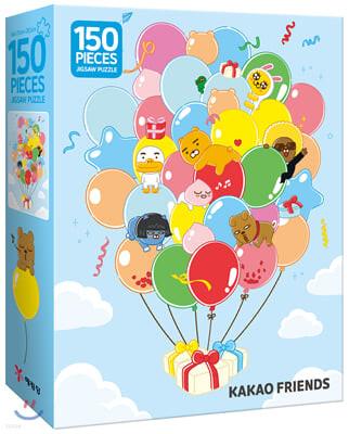 카카오프렌즈 직소 퍼즐 150 PCS : 오 해피 데이!