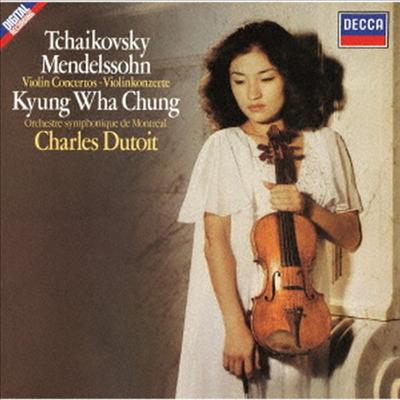 차이코프스키, 멘델스존: 바이올린 협주곡 (Tchaikovsky: Violin Concerto, Mendelssohn: Violin Concerto) (SHM-CD)(일본반) - 정경화 (Kyung-Wha Chung)
