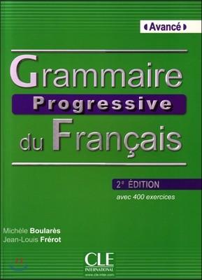 Grammaire Prgoessive du francais Niveau Avance. Livre (+CD)