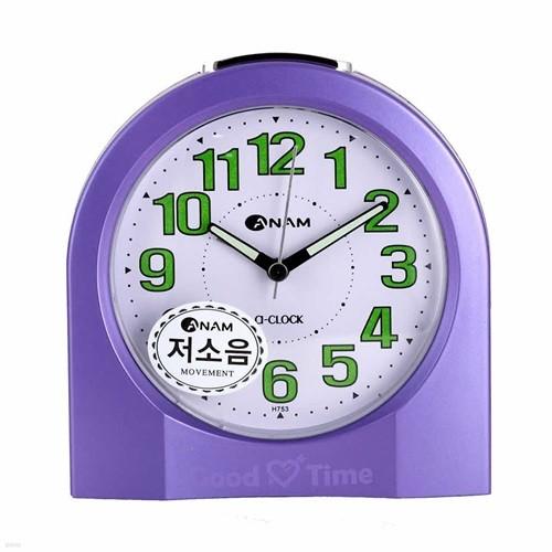 아남시계 H753 아날로그 탁상시계 저소음시계