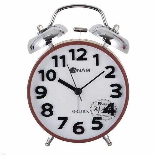 아남시계 H765 아날로그 탁상시계 저소음시계
