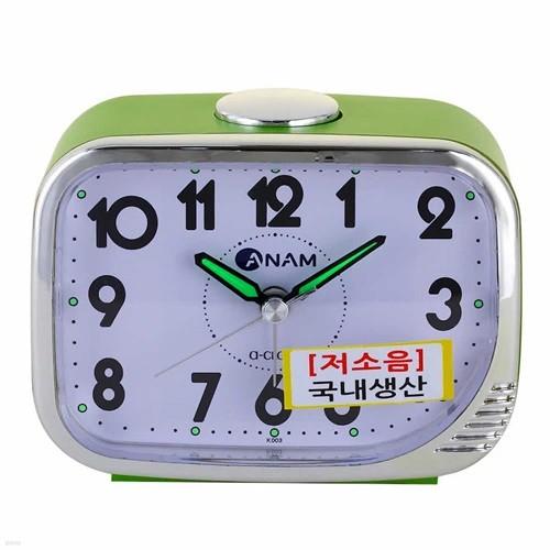 아남시계 K003 아날로그 탁상시계 저소음시계