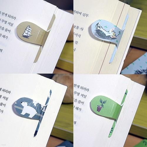고급플라스틱n자석 자동책갈피 수지인(手紙印)] 인기상품 모음전