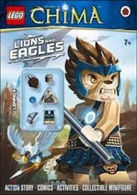 LEGO Legends of Chima: Lions and Eagles Activity Book with M