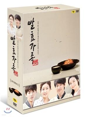 발효가족 DVD(10Disc) + 화보집(레시피포함)