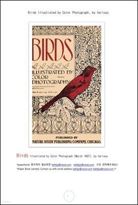 칼라로 보는 새들 (Birds Illustrated by Color Photograph, by Various)